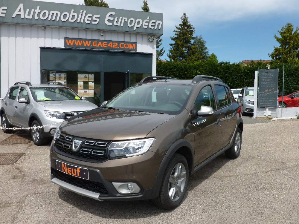 espace automobiles europ en dacia sandero stepway 1 5 dci prestige. Black Bedroom Furniture Sets. Home Design Ideas